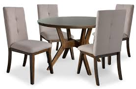 Chelsea 5-Piece Round Dining Table Package With Beige Chairs | The Brick Live Edge Acacia Wood Iron 106 Ding Table W 5 Chairs Bench Signature Design By Ashley Charrell Piece Round Set Hooker Fniture Archivist With Pedestal Shop Picasso Pc Kitchen Table Set Leaf And 4 Plainville Settable Vintage Joanna Vintagrpjoannatbl5 Leg Side Detail Feedback Questions About Goplus Pcs Black Room Boconcept Granada Extendable Aptdeco Coaster Barzini Leatherette Mix Match 150041 Counter Height Dunk Costway Metal Canterbury Extension Noa Nani