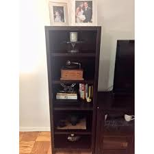 Pottery Barn Rhys Media Console & Bookshelves - AptDeco Long Media Console Car Desk Organizer Coffee Table Foyer Tables Pottery Barn Settee About Fancy Apothecary For Fresh 12 Chloe Ideas 2017 Armoire Ebay Griffin Reclaimed Wood Decor Look Pottery Barn Console Table Roselawnlutheran 15 Best Of Rhys From Do Want