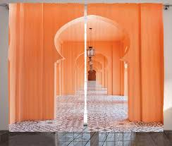 arabischen vorhänge marokkanischen gehweg mit asiatischen motive und arabisch artsy elemente visuelle orientalischen foto wohnzimmer