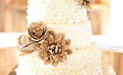 Rustic Wedding Cake With Burlap Gallery Sale Wood Love Topper And 3 Flowers