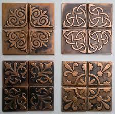 Copper Tiles For Backsplash by Best 25 Copper Backsplash Ideas On Pinterest Reclaimed Wood