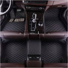 100 Custom Floor Mats For Trucks Amazoncom Okutech Fit All Weather 3D Covered XPE Leather