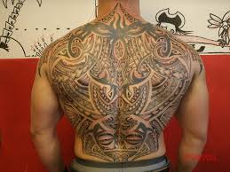 Tattoo Full Back For Men Of Tribal Maori Style By Alexandre Mahuru