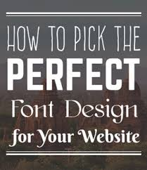 How To Pick The Best Font For Your Website March 2018