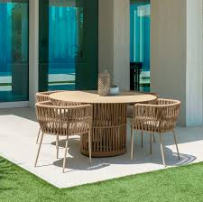 Contemporary Dining Table / Aluminum / Rope / Round - CLIFF ... Alfresco Sintra 1100 Round Teak Ding Table Orient Express Costa Chair Taupe White Rope Grey Wood Height Lad Classic Bedroo Side Fniture Chairs Ellie 5pc Outdoor Setting Amazoncom Solid Retro Cowhide Garden Page 2 Of 12 Glasswells Peacock By Caline Wgu Design Danish Mid Century Frem Rojle And Set 4 Large Pine With Twist Legs Midcentury Swedish Modern Svegards Mkaryd Weave Luxury Organic Hand Woven