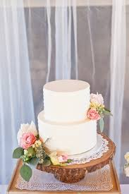 Cake From A Rustic Floral 1st Birthday Party Via Karas Ideas KarasPartyIdeas