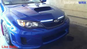 how to remove day running lights 2011 subaru wrx drl