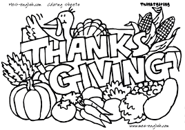 Thanksgiving Day Coloring Pages Hundreds Of Free For Kids Line Drawings
