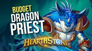 hearthstone budget frozen throne dragon priest deck guide youtube