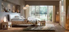 schlafzimmer mondo holzwerkstoff glas chagner spiegel