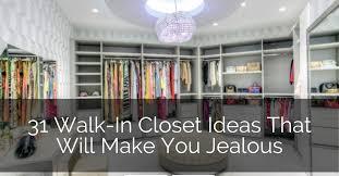 31 walk in closet ideas that will make you jealous sebring