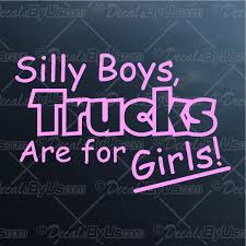 Low Prices On Silly Boys Trucks Are For Girls Car & Truck Decals ... Jeep Girl Logos Texas Sign Company Destroys Tailgate Decal Of Bound Woman Youtube Low Prices On Silly Boys Trucks Are For Girls Car Truck Decals Baby Girl On Board Carlos Hangover Die Cut Vinyl Sticker 5 Cheap Crown Find Deals Line At Alibacom Country Amazoncom Buy Stick Figure Family Nobody Cares About Your Protest Funny Family Feud The Backlash Against Those Cartoon Decals 2018 Sexy Hot Women Girl Adult Pinup Bitch Jdm Drift Honda Pink Car Decal Ebay Stickers And Styling 3x72 183x8 Cm Suv Pin By Alexis Ward Pinterest Cars