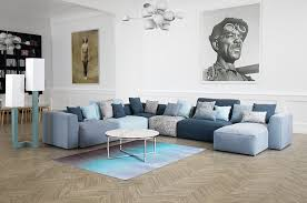 canapé tissus design canapés tissu les salons fauteuils canapés