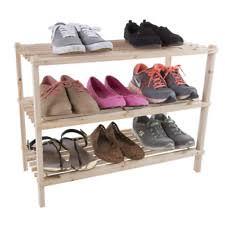 Outdoor Shoe Rack Organizer Storage With 3 Cubbies 4 Shelf Baby