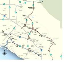 Toll Roads Map California Freeway Pdf