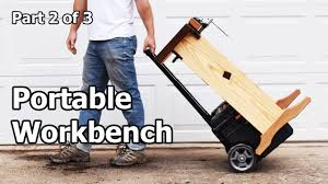 How To Build A Portable Woodworking Workbench