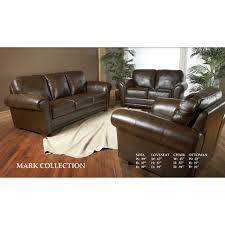 luke leather mark leather configurable living room set reviews