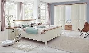 schlafzimmer 4teilig kiefer massiv chagner lackiert wildeiche geölt casade mobila