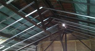 pose placo plafond sur rail excellent decoration with pose placo