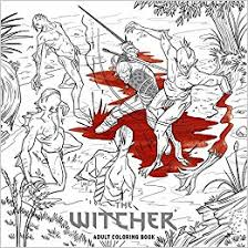 Amazon The Witcher Adult Coloring Book 9781506706375 CD Projekt Red Books