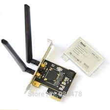 antenne wifi pour pc bureau demi mini pci express à standard pci e adaptateur deux ordinateur