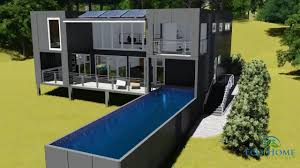 100 Custom Shipping Container Homes SCH23 12m X 34m Home Video