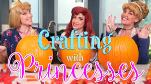 Funny Pumpkin Carvings Youtube by Crafting With Princesses Pumpkin Carving Youtube