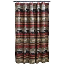 Woolrich Woodlands Shower Curtain & Accessories Cabin Place