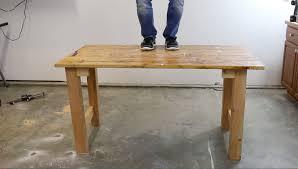 diy scrap wood workbench part one youtube