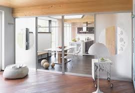 offene küche mit schiebetür abtrennen planungswelten