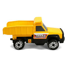100 Vintage Tonka Truck Classic Steel Construction Dump Toy Model