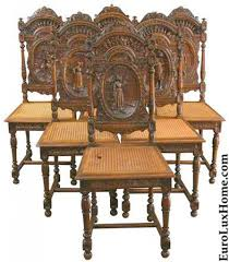 French Antique Dining Chairs | Letters From EuroLux Tiger Oak Fniture Antique 1900 S Tiger Oak Round Pedestal With Ding Chairs French Gothic Set 6 Wood Leather 4 Victorian Pressed Spindle Back Circa Room 1900s For Sale At Pamono Antique Ding Chairs Of Eight Chippendale Style Mahogany 10 Arts Crafts Seats C1900 Glagow Antiques Atlas Edwardian Queen Anne Revival Table 8 Early Sets 001940s Extendable With Ball Claw Feet Idenfication Guide