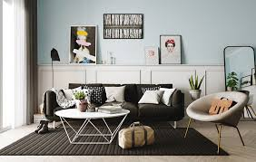 20 Ways To Use Pastel Colors In Scandinavian Living Rooms