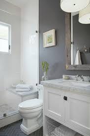 Grey Tiles Bathroom Ideas by Best 25 Small Grey Bathrooms Ideas On Pinterest Grey Bathrooms