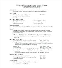 Sample Resume Electrician Related Post For Electrical Apprenticeship