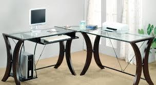 Bestar L Shaped Desk by Frightening Photo Simple L Shaped Desk Design Of Espresso Desk