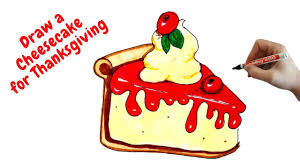 How to draw a slice of thanksgiving pie