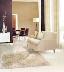 Kathy Ireland Living Room Furniture Studio Collection Sunset Boulevard Shag Area Rug In Quartz Home By