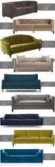 Tufted Velvet Sofa Bed by Get The Look 10 Velvet Sofas For Any Budget Photos Washingtonian