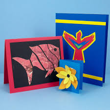 Use Paper Cuts To Decorate Greeting Cards And Gift Tags