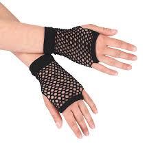 short fishnet gloves madonna costume