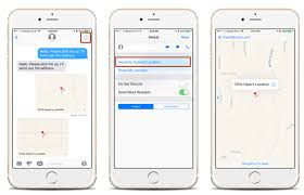 Send My Location How to Send Your Current Location on iPhone