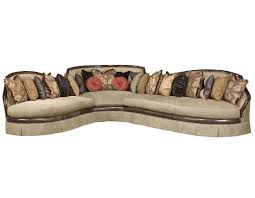 Transitional Living Room Leather Sofa by Living Room Image Traditional Sectional Sofas Brown Top Grain