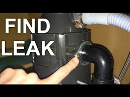 my garbage disposal leaks all possible areas of leaking youtube