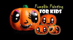 Mickey Vampire Pumpkin Stencil by Halloween Pumpkin Painting For Kids Vampire Youtube
