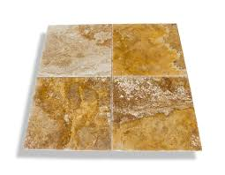 Scabos Travertine Natural Stone Wall Tile by Free Samples Kesir Travertine Tile Brushed And Chiseled Scabos