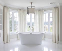 what style kind of bathroom window curtains looks good home