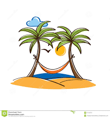 Palm Tree With Hammock Clipart – Decorations Image Idea