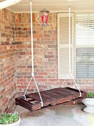 Dishfunctional Designs This Aint Yer Grandmas Porch Swing DIY