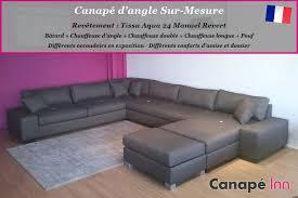 canapé angle sur mesure canapés sur mesure fabriqués en canapé inn